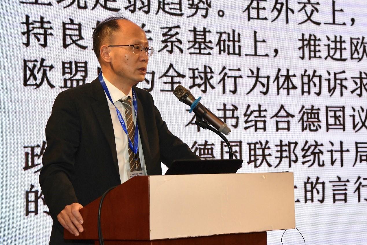 同济大学德国研究中心主任、《德国发展报告(2020)》主编郑春荣教授介绍图书